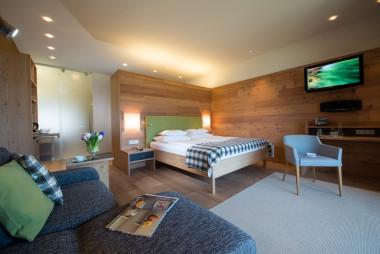Eines der Hotelzimmer im Biohotel der daberer (Dab-0267) | Foto: Biohotel der daberer/F. Neumüller