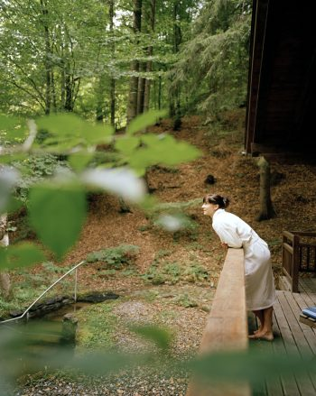 Die Waldsauna des Biohotel der daberer im Wald hinter dem Hotel | Foto: Biohotel der daberer/Hauke Dressler