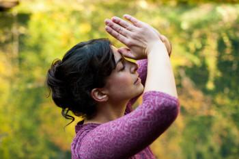 Yoga im Wald hinter dem Biohotel der daberer | Foto: der daberer. das biohotel/F. Neumüller