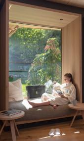 Entspannung im spa.wohnzimmer im Daberer natur.spa (Dab-8096) | Foto: der daberer. das biohotel/F. Neumüller