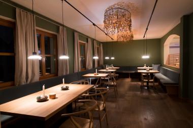 Einer der Teilbereiche des Hotelrestaurants im Biohotel der daberer | Foto: Biohotel der daberer/F. Neumüller