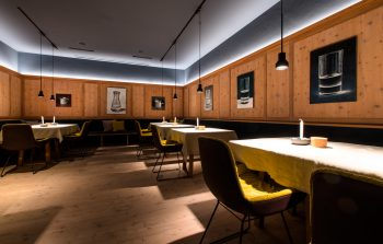 Blick in eine der Stuben im Restaurant des Biohotel der daberer | Foto: Biohotel der daberer/F. Neumüller