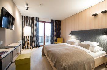 Eines der Hotelzimmer im Biohotel der daberer | Foto: Biohotel der daberer/F. Neumüller