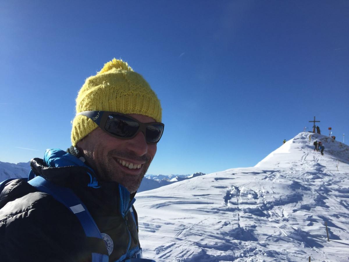 Berg- & Skiführer Wolfgang Peer auf Skitour im Wipptal