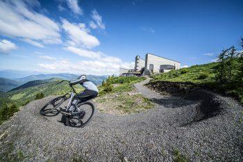 Flow Trail Bad Kleinkirchheim mit Start auf der Kaiserburg | Foto: Bad Kleinkirchheimer Bergbahnen/Gert Perauer