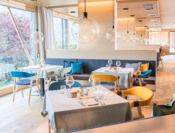 Das Restaurant im Biohotel der daberer mit Blick ins Freie | Foto: der daberer. das biohotel/F. Neumüller