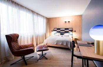 Eines der Hotelzimmer im Biohotel der daberer | Foto: der daberer. das biohotel/F. Neumüller