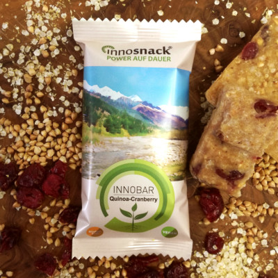 Innobar Quinoa Cranberry innosnack Energieriegel Mood