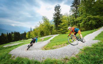 Die MEX Line - der neue Flow Trail am Nassfeld | Foto: Bergbahnen Nassfeld/NLW