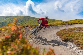 Der Kornock Trail - der neue Flow Trail auf der Turracher Höhe | Foto: Bergbahnen Turracher Höhe/S. Attisani