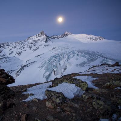 Gletscherstimmung - Hintereisspitze - fotografiert von Bernd Ritschel