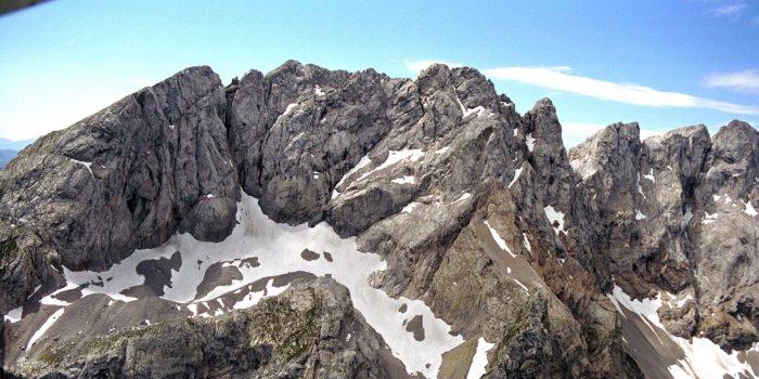 Der Eiskar-Gletscher - klein, versteckt, aber oho