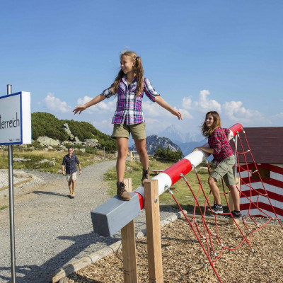 Der Dolce Vita Weg verläuft erlebnisreich direkt an der Grenze zwischen Österreich und Italien