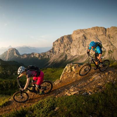 Das Nassfeld ist ein Eldorado für Mountainbiker mit Naturtrails, einem Flow-Trail und zahlreichen weiteren Bikestrecken