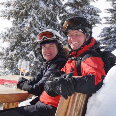 Peter Paal - ganz privat beim Skifahren