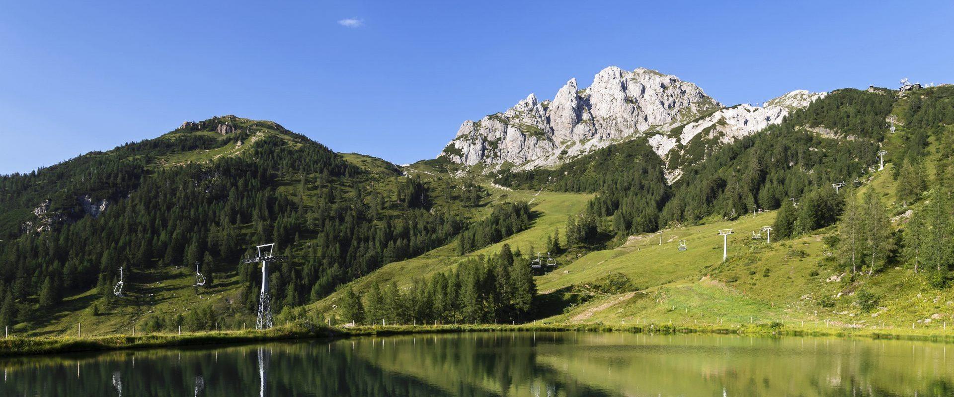 Das Nassfeld ist ein Wanderparadies für gemütliche Touren und sportlich-ambitionierte Berg-Erlebnisse
