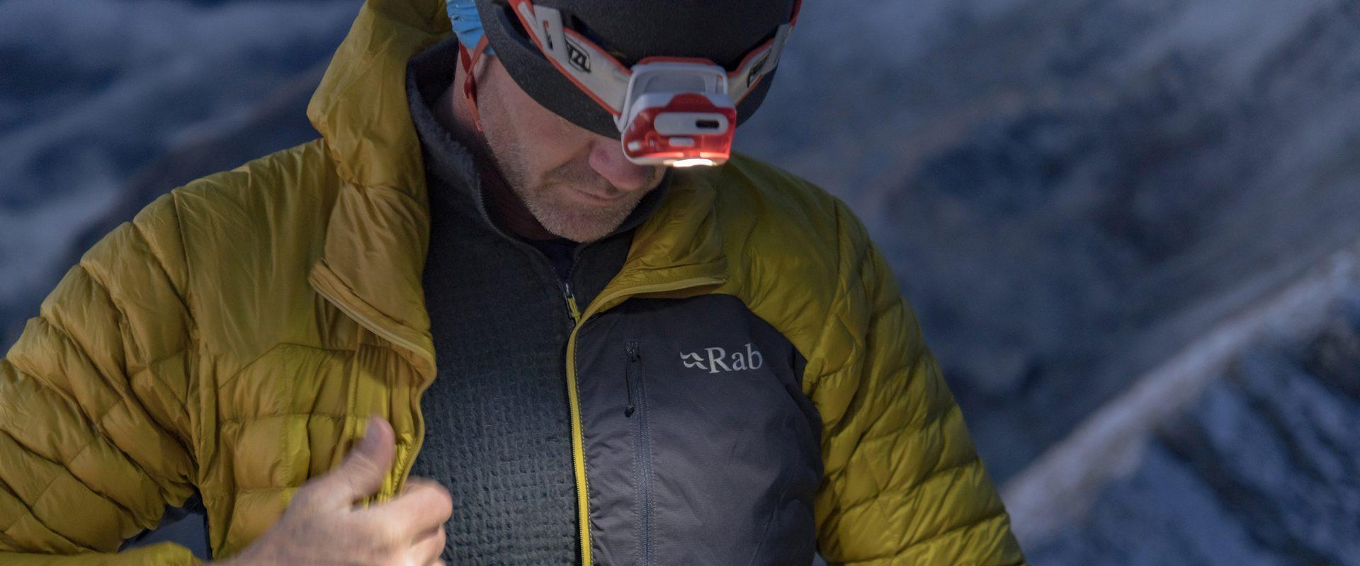 Das Rab Kaon Jacket - eine perfekte Isolationsjacken-Lösung