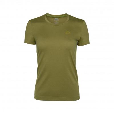 6041 Infinito Villach Damen T-Shirt_senape_RGB_skinfit_PR Print