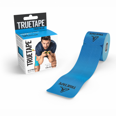 TrueTape Precut Box and Tape-blue